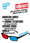 2016-04-29 3D Night - Bouncing Bones, The Bonnie Situations, Dashing Divas, Danila