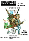 1 - 2017.04.07 - Jim & Friends, Queen Mashie, les Consonnants, Barely